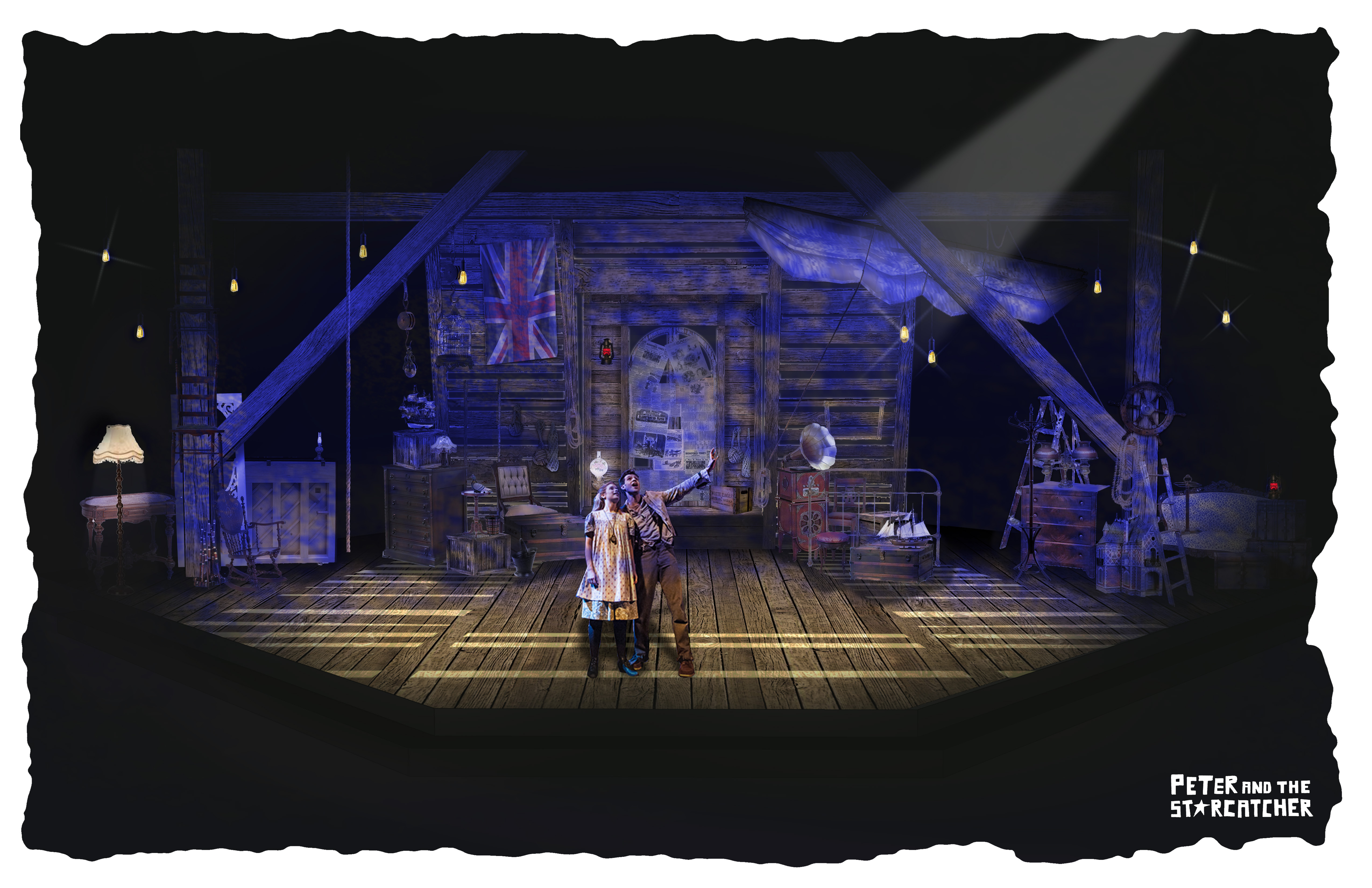 Peter and the Starcatcher - rendering