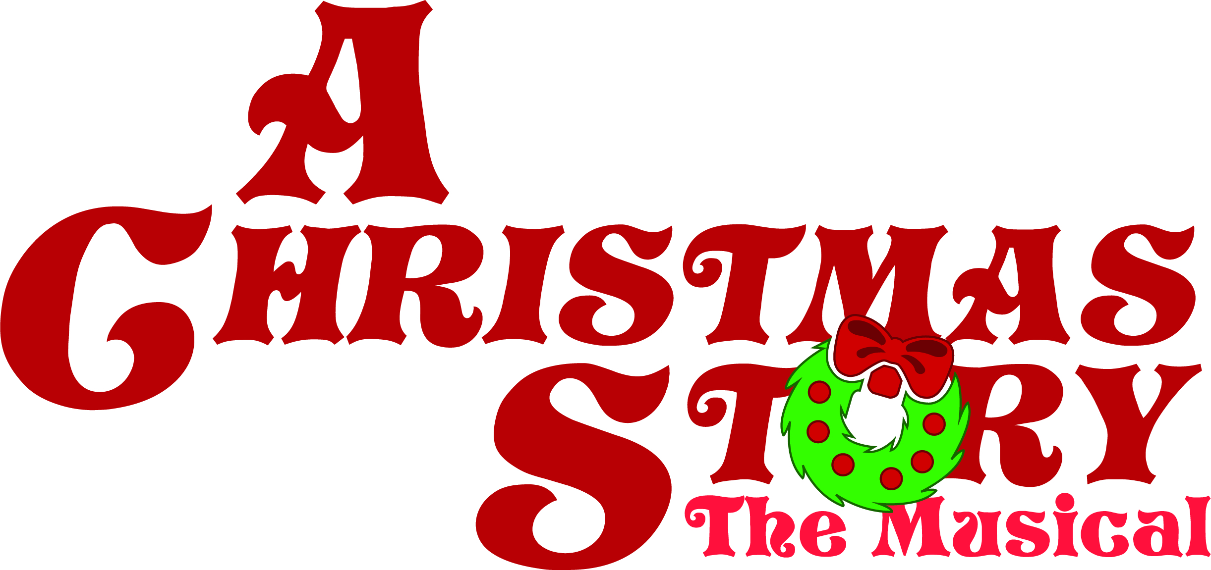 A Christmas Story, The Musical Logo-Color